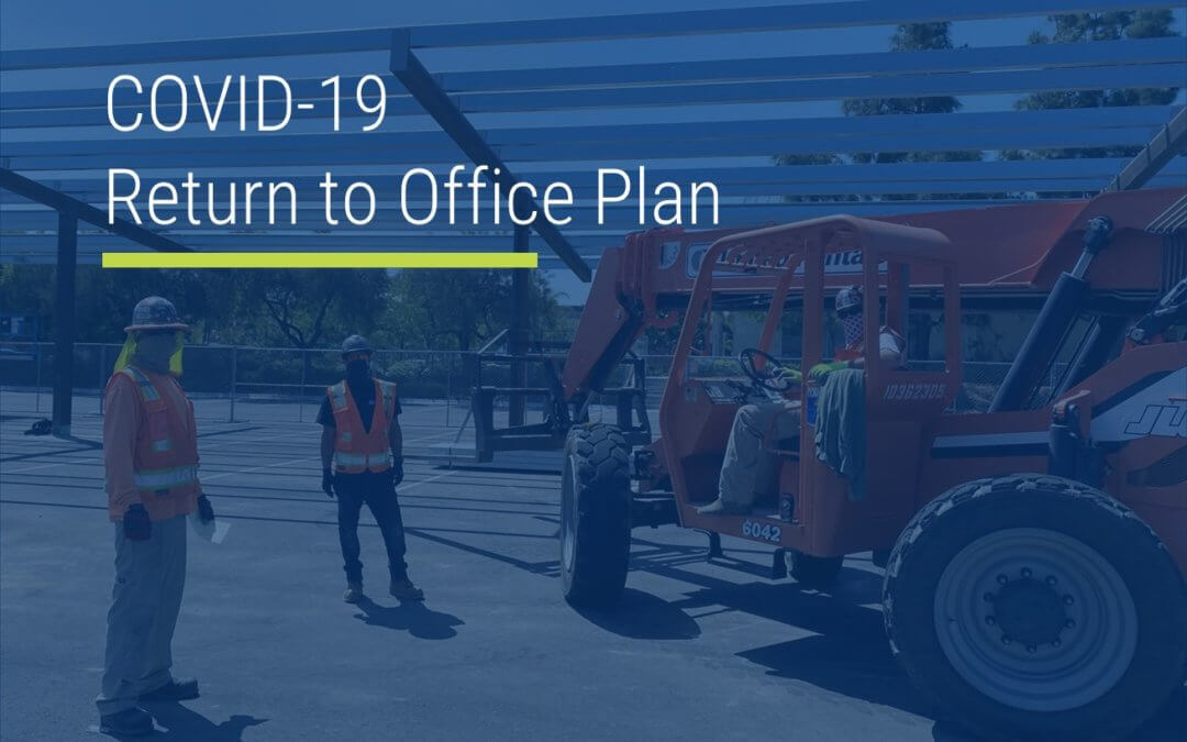 COVID-19 Return to Office Plan